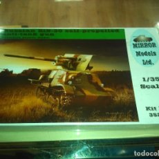 Maquetas: MIRROR RUSSIAN ZIS-30 SELF-PROPELLED ANTI-TANK GUN KIT 35202. Lote 182528920