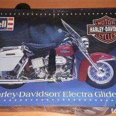 Maquetas: HARLEY DAVIDSON ELECTRA GLIDE. Lote 182532825