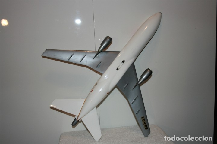 Maquetas: MAQUETA AVION DC-10 IBERIA, DE AGENCIA DE VIAJES, FABRICADA POR AIRPLAST, AÑOS 80. - Foto 9 - 172590513