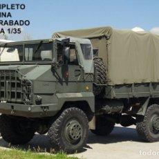 Maquetas: NIMIX REF 3507 KIT EN RESINA PEGASO 3046 4X4 MILITAR TTE TROPAS Y CARGA. Lote 92163235