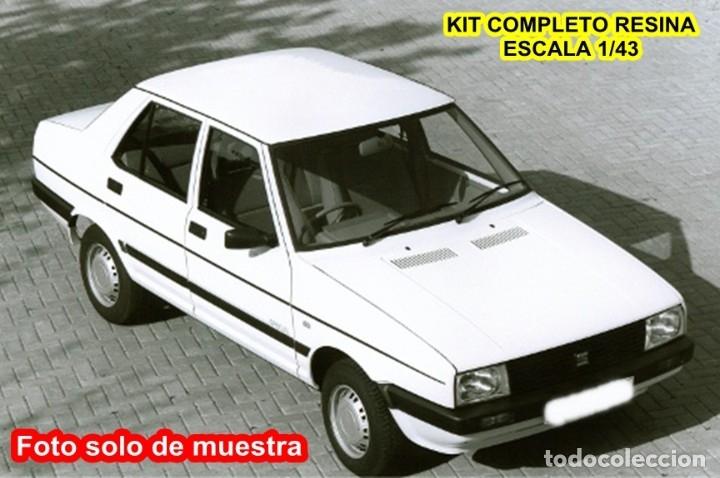 HECO MODELS REF HC 0132 SERIE RUBIS KIT SEAT MALAGA L - RESINA (Juguetes - Modelismo y Radiocontrol - Maquetas - Coches y Motos)