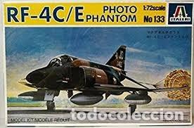 ITALERI - RF-4C/E PHOTO PHANTOM 1/72 133 (Juguetes - Modelismo y Radio Control - Maquetas - Aviones y Helicópteros)