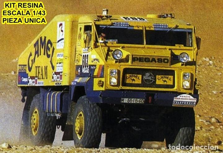 GAFFE KIT CAMION PEGASO 7223 TURBO PROTO CAMEL RALLYE PARIS DAKAR 1991 (Juguetes - Modelismo y Radiocontrol - Maquetas - Coches y Motos)
