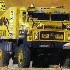 Maquetas: GAFFE KIT CAMION PEGASO 7223 TURBO PROTO CAMEL RALLYE PARIS DAKAR 1991. Lote 92163705