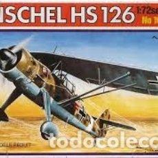 Maquetas: ITALERI - HENSCHEL HS126 1/72 109. Lote 182736778