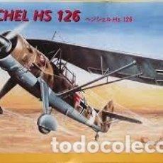 Maquetas: ITALERI - HENSCHEL HS126 1/72 109. Lote 182736797