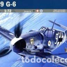 Maquetas: ITALERI - BF-109 G-6 MESSERSCHMITT 1/72 063. Lote 182736951