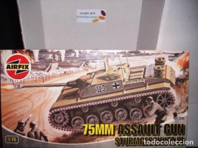 AIRFIX 1/76 75 MM. ASSAULT GUN STURMGESCHUTZ III (Juguetes - Modelismo y Radiocontrol - Maquetas - Militar)