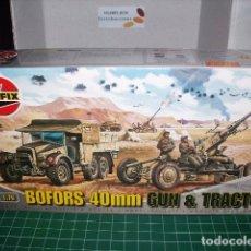 Maquetas: AIRFIX 1/76 BOFORS 40 MM. GUN & TRACTOR. Lote 182763333