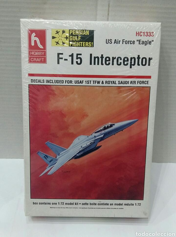 Maquetas: LOTE HOBBY CRAFT.BOEING VERTOL CH113 LABRADOR, F-15 INTERCEPTOR, CF-18 HORNET.1/72. PRECINTADO.NUEVO - Foto 5 - 182787983