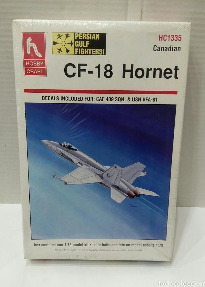 Maquetas: LOTE HOBBY CRAFT.BOEING VERTOL CH113 LABRADOR, F-15 INTERCEPTOR, CF-18 HORNET.1/72. PRECINTADO.NUEVO - Foto 7 - 182787983