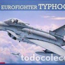 Maquetas: REVELL - EUROFIGHTER TYPHOON SINGLE SEATER 1/72 04317 CALCAS ESPAÑOLAS. Lote 182806755