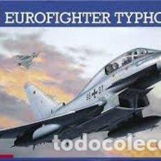 Maquetas: REVELL - EUROFIGHTER TYPHOON TWIN SEATER 1/72 04338 CALCAS ESPAÑOLAS. Lote 182806833
