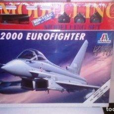 Maquetas: 042 ITALERI 1/72 EF-2000 EUROFIGHTER. Lote 182865206