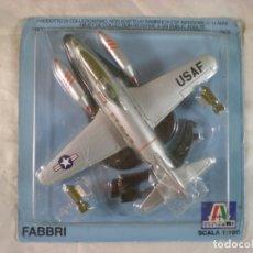 Maquetas: AVION METAL F-80 - ITALERI 1:100 - REF AG-P019. Lote 182908858