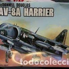 Maquetas: AMT - MC DONNELL DOUGLAS AV-8A HARRIER 1/72 8801. Lote 182914685