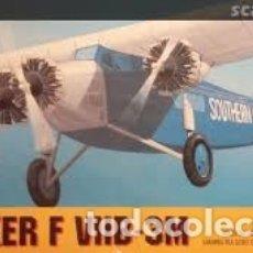 Maquetas: CHEMATIC - FOKKER F VIIB-3M 1/72. Lote 182917045