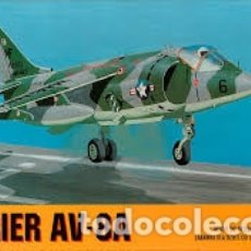 Maquetas: CHEMATIC - HARRIER AV-8A 1/72 CALCAS ESPAÑOLAS . Lote 182917086