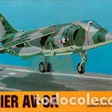 Maquetas: CHEMATIC - HARRIER AV-8A 1/72 CALCAS ESPAÑOLAS . Lote 182917106