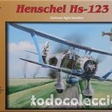 Maquetas: FLY - HENSCHEL HS-123 A 1/72 72009 CALCAS ESPAÑOLAS. Lote 182917157