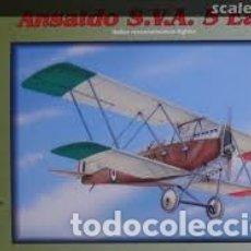 Maquetas: FLY - ANSALDO S.V.A. 5 EARLY 1/48 48006. Lote 182917201