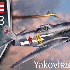 Maquetas: MAQUETA DEL CAZA SOVIÉTICO YAKOVLEV YAK-3 DE REVELL A ESCALA 1/72 (NUEVO MOLDE). Lote 182919033
