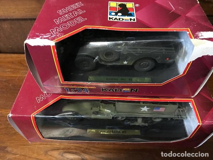 Maquetas: Vehiculos Dodge WC51 y Halftrack M3 - Foto 4 - 183041727
