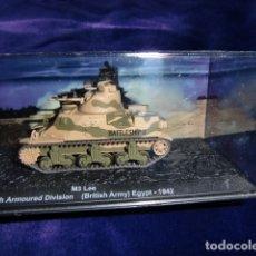 Maquetas: TANQUE M3 LEE 10TH ARMORED DIVISION BRISTISH ARMY EGIPT 1942. Lote 183261412