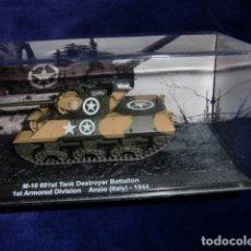 Maquetas: TANQUE M-10 601ST TANK DESTROYER BATTALION ANZYO ITALIA 1944. Lote 183263075