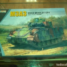 Maquetas: MODERN US ARMY M3A3 BRADLEY CFV BASIC KINETIC K61014 1/35. Lote 183288098