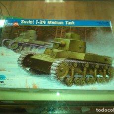 Maquetas: HOBBY BOSS 1 35 82493 SOVIET T 24 MEDIUM TANK. Lote 183290003
