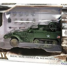 Maquetas: FORCES OF VALOR U.S. M16 MULTIPLE GUN MOTOR CARRIAGE 1/32. Lote 183337307