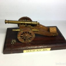 Maquetas: MAQUETA CAÑON FIELD GUN OF 1490 DE ARTESANIA LATINA. Lote 183416951