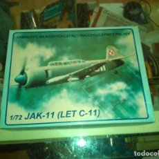 Maquetas: JAK-11 (LET C-11) ABC MODELFARB - NO. 7201 - 1:72. Lote 183420978