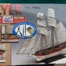 Maquetas: MAQUETA DE BUQUE PILOTO..FLYER..ESCALA 1/100 DE CONSTRUCTOR... Lote 183429182