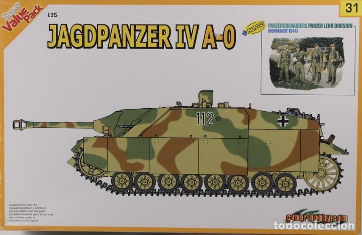 MAQUETA CAZACARROS JAGDPANZER IV A-0 & PANZERGRENADIERS, REF. 9131, 1/35, DRAGÓN . (Juguetes - Modelismo y Radiocontrol - Maquetas - Militar)