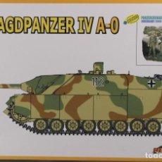 Maquetas: MAQUETA CAZACARROS JAGDPANZER IV A-0 & PANZERGRENADIERS, REF. 9131, 1/35, DRAGÓN .. Lote 183559918