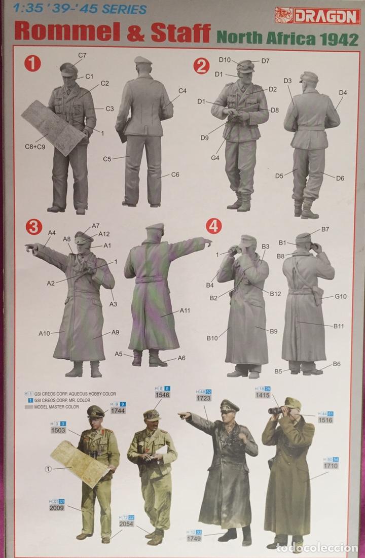 Maquetas: Rommel & Staff North Africa 1942 1:35 DRAGÓN 6723 maqueta figuras diorama carro - Foto 2 - 183598088