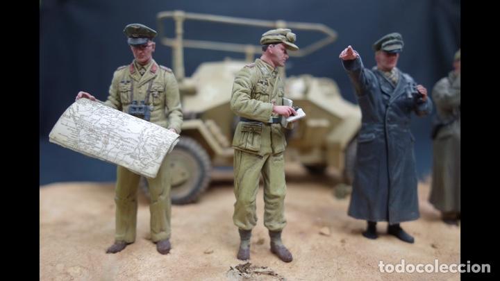 Maquetas: Rommel & Staff North Africa 1942 1:35 DRAGÓN 6723 maqueta figuras diorama carro - Foto 9 - 183598088