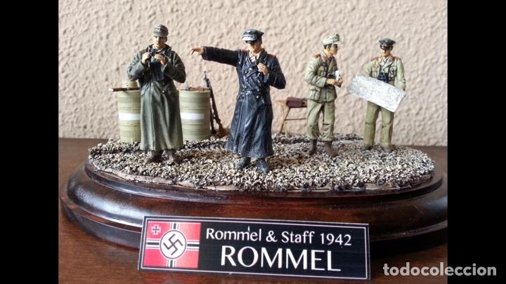 Maquetas: Rommel & Staff North Africa 1942 1:35 DRAGÓN 6723 maqueta figuras diorama carro - Foto 10 - 183598088
