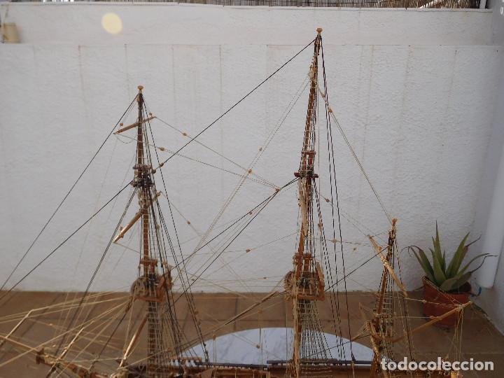Maquetas: Maqueta de barco ingles posiblemente del Endeavour leer descripción - Foto 2 - 183832158