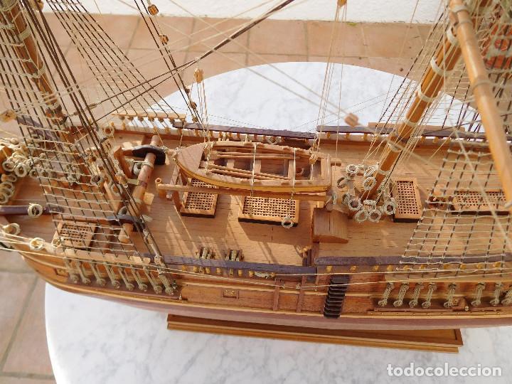 Maquetas: Maqueta de barco ingles posiblemente del Endeavour leer descripción - Foto 6 - 183832158