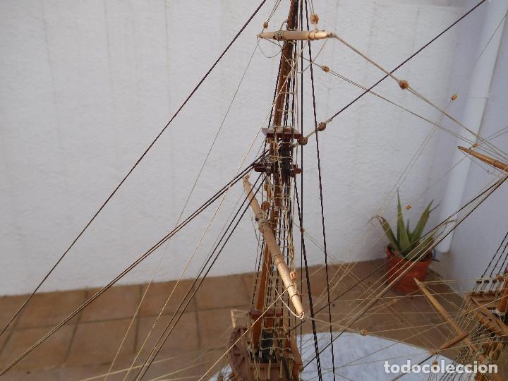 Maquetas: Maqueta de barco ingles posiblemente del Endeavour leer descripción - Foto 8 - 183832158