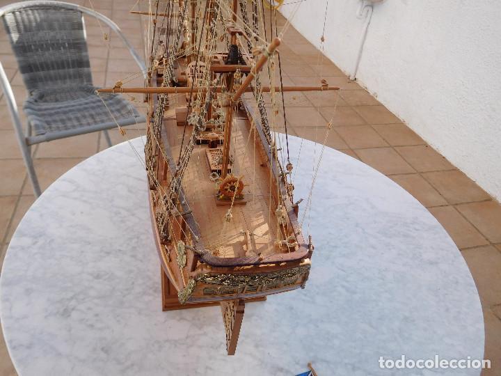 Maquetas: Maqueta de barco ingles posiblemente del Endeavour leer descripción - Foto 9 - 183832158
