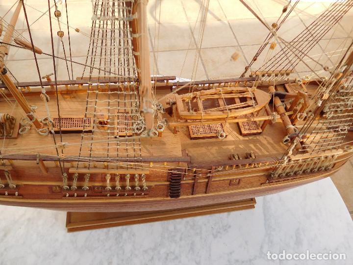 Maquetas: Maqueta de barco ingles posiblemente del Endeavour leer descripción - Foto 13 - 183832158