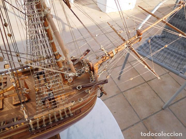Maquetas: Maqueta de barco ingles posiblemente del Endeavour leer descripción - Foto 15 - 183832158