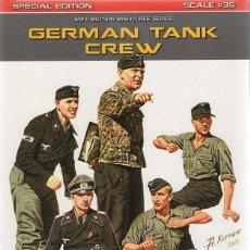 Maquetas: GERMAN TANK CREW. SPECIAL EDITION. MINIART 1/35. REF. 35283. Lote 183877627