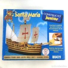 Maquetas: SANTA MARIA-CONSTRUCTO JUNIOR-80419-MAQUETA BARCO. Lote 183886620