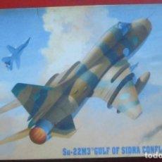 Maquetas: SUKHOI SU-22M-3. MASTER HOBBY KITS ESCALA 1/72. MODELO NUEVO. Lote 184002147