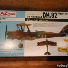 Maquetas: MAQUETA DE AVION DH.82 TIGER MOTH MK II ESCALA 1/72. Lote 184078161